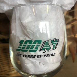 Other - Saskatchewan Roughriders wine glasses